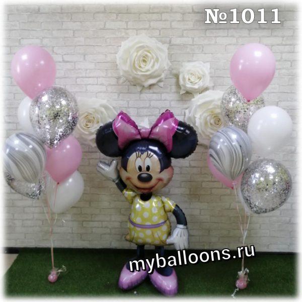 Минни-Маус с шариками