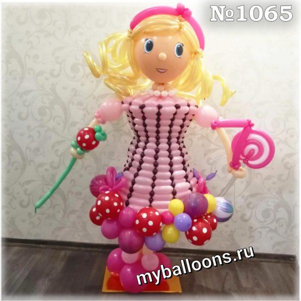Ростовая кукла из воздушных шаров
