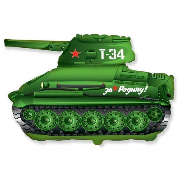 """Фольгированная фигура """"Танк Т-34"""""""