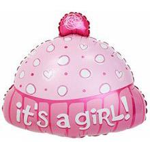 Фольгированный шар шапочка девочки