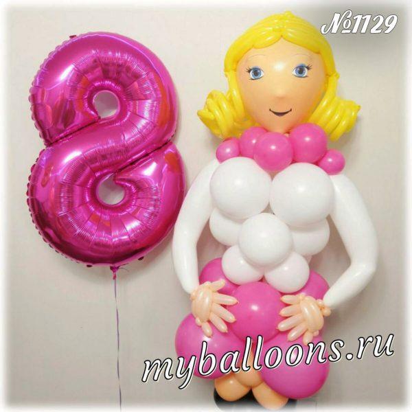 Девушка из воздушных шаров