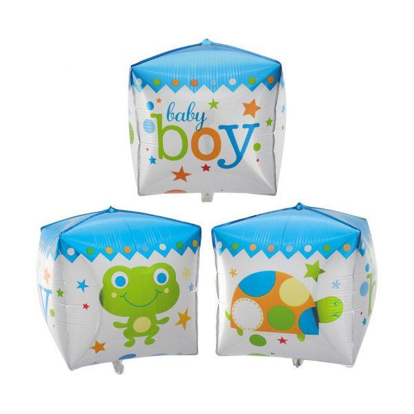 Фольгированный куб для мальчика