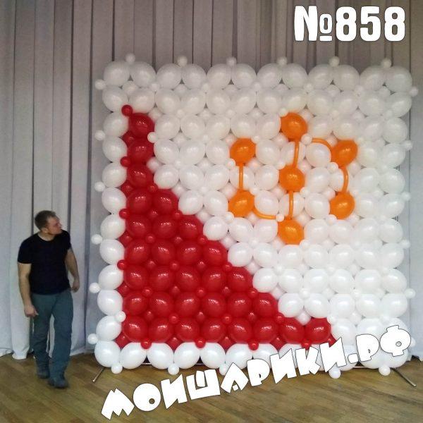 Панно и воздушных шаров