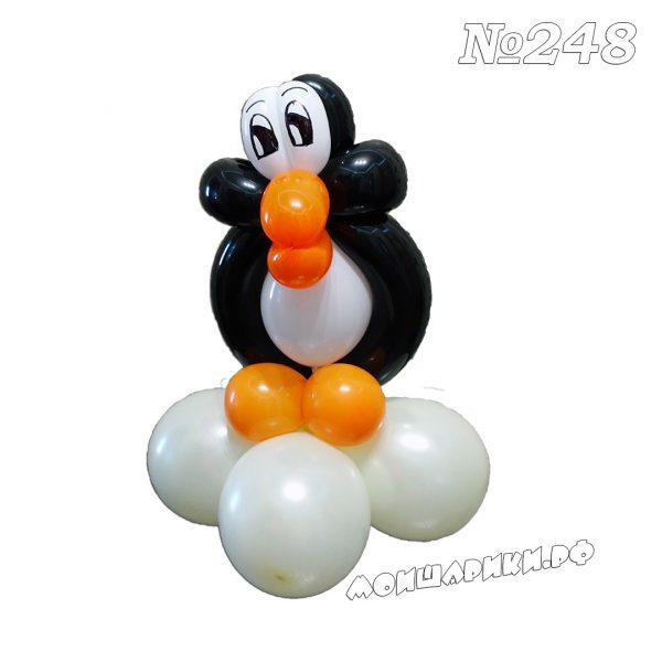 Пингвин из воздушных шаров