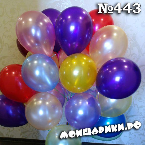 Воздушный шар металлик