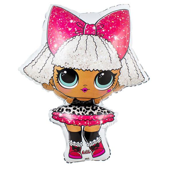 Кукла LOL Дива из фольги