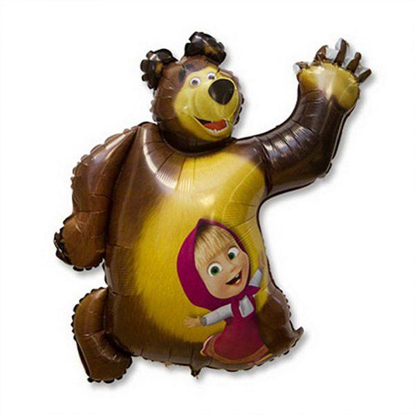 Фигура из фольги Маша и Медведь