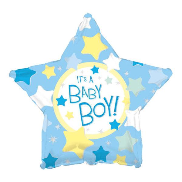 Шар звезда со звездочками это мальчик