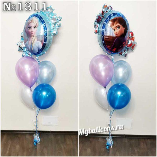 Эльза и воздушные шары