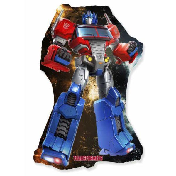 Робот трансформер синий
