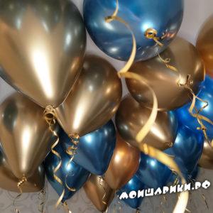 Время полета воздушных шаров с гелием